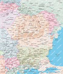 Moldova Map Romania Bulgaria Moldova Map Illustrator Mountain High Maps Plus