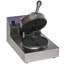 nemco 7000a s silverstone non stick single waffle maker 120v