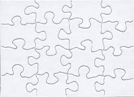 free puzzle piece template blank jigsaw puzzle template free download