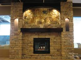 stone fireplace designs rukle imposing cobblestone of interior