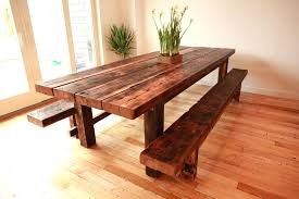 rustic bench dining table dining tables rustic bench style dining