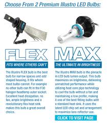 bmw weisslicht illustro flex led headlight fog light bulb bimmian