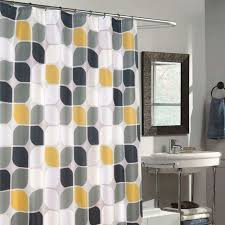 Best Fabric For Shower Curtain Quizas Pasion Waterproof Mildew Resistant Fabric Shower Curtain