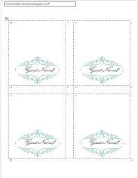 doc 469603 place card template u2013 best 25 place card template