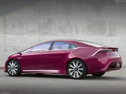 toyota ns4 advanced plug in hybrid concept 2012 pictures