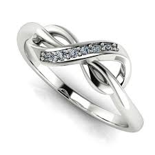 infinity diamond ring infinity diamond ring rd0172 3d printable model cgtrader