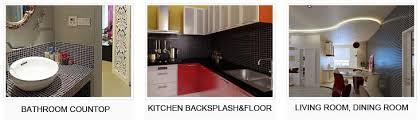 kitchen with backsplash pictures wholesale porcelain tile mosaic black square surface tiles