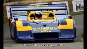porsche 917 can am 354 porsche 917 30 can am spyder 1972 prototype car youtube