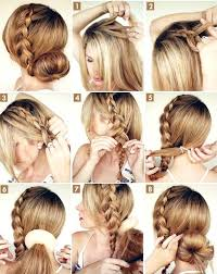 hairstyles with steps step by step hair style trendy mods com