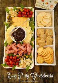 easy party cheeseboard recipe food brunch and snacks