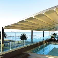 Modern Retractable Awning Pvc Retractable Roof Aluminum Pergola Buy Aluminum Pergola