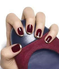 thanksgiving fingernail designs gold and maroon nail art products i love pinterest nail art i
