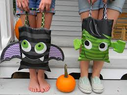 sew a trick or treat bag spoonflower bump pinterest