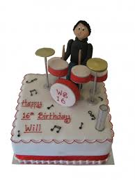 Man On Drum Kit Cccakes