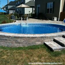 Backyard Oasis Ideas by Backyard Designs With Above Ground Pools Our Backyard Oasis