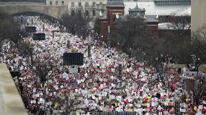 washington women u0027s march crowd surpasses inauguration attendance