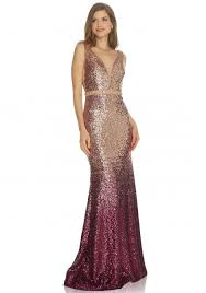 sequin dress collection sequin dress in gold and wine