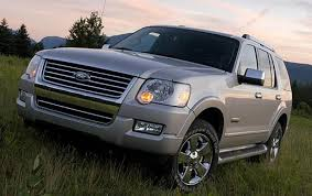 Ford Explorer Models - 2007 ford explorer information and photos zombiedrive