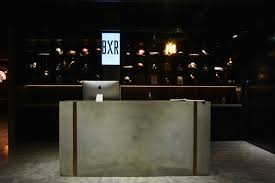 Concrete Reception Desk Concrete Reception Desk Bxr Marylebone