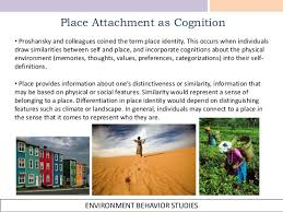 A Place When Defining Place Attachment