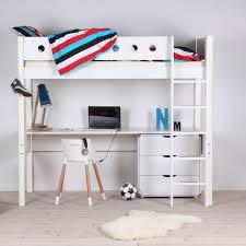 Flexa Bunk Bed Flexa Loft Bed With Desk Nubie