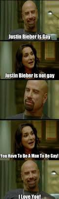 From Paris With Love Meme - justin bieber is gay justin bieber funny pictures scene