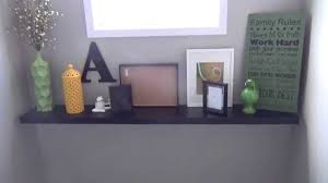 how to make your own mantel with a floating shelf ikea lack