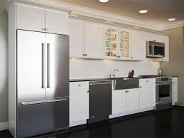 one wall kitchen with island designs one wall kitchen on kitchen layouts kitchens and