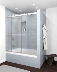 Bypass Shower Door New Product Equalis Series Frameless Sliding Bypass Shower Doors