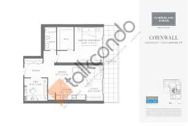 One Bloor Floor Plans by Cumberland Tower Talkcondo