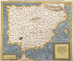 Spain Portugal Map by Hispanien Nach Aller Seiner Gelegenheit In Bergen Stetten