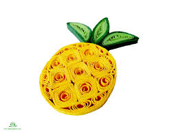 quilling pineapple quilled fruits quilling pinterest