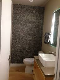 grey standing mosaic bathroom feature wall pebble tile shop large