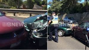 man arrested after police chase ends in car crash in frankston