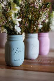 Mason Jar Vases Diy Vase And Keepsake Jars Crafting With Ball Jars Simply