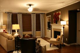 Brown Accent Wall by The Bozeman Bungalow Living Room Accent Wall Done