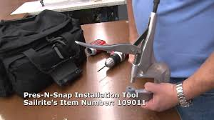 Dura Snap Upholstery Buttons How To Remove And Replace A Snap Youtube
