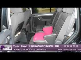 siege sharan occasion vente diesel volkswagen touran 2009
