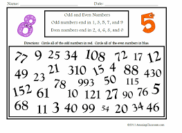 even and odd numbers worksheets free worksheets library download