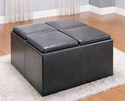homelegance claire storage cocktail ottoman 470pu
