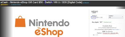 eshop gift cards nintendo and silently confirm eshop works on switch