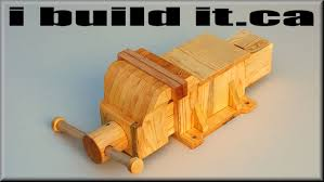 Building A Wood Desktop by Making A Wooden Vise Youtube