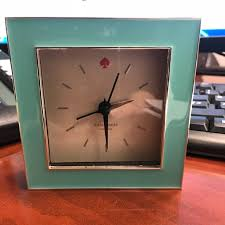 kate spade desk clock kate spade accessories kate spade desk clock in box poshmark