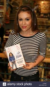alyssa milano at her book review tour u0027safe at home confessions