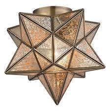 Moravian Light Fixtures by Flush Mount Star Light Fixture Home Design Ideas