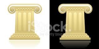 Greek Pedestal Greek Column Stock Vectors Clipart Me