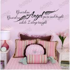 Girls Bedroom Wall Quotes Word Art Stickers For Walls Home Design