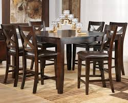 bar style dining table pub style dining room sets kitchen table casual design with pieces