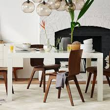 kitchen dining table ideas parsons dining table rectangle elm