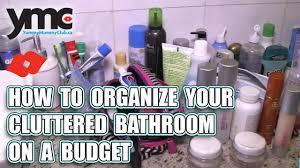 Organize Chaos Yummymummyclub Ca How To Organize Your Cluttered Bathroom On A Budget